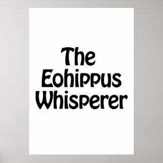 the eohippus whisperer poster