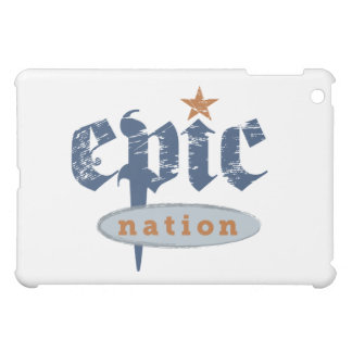 """The Epic Nation"" Original Logo ipad case"