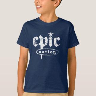 """The Epic Nation"" Original Logo Kids Tshirt"
