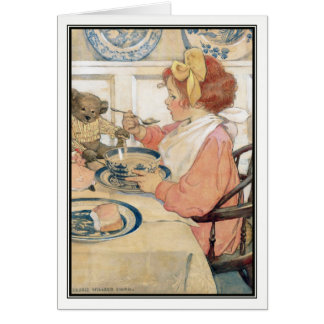 The Epicure by Jessie Willcox Smith Card