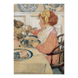The Epicure by Jessie Willcox Smith Poster