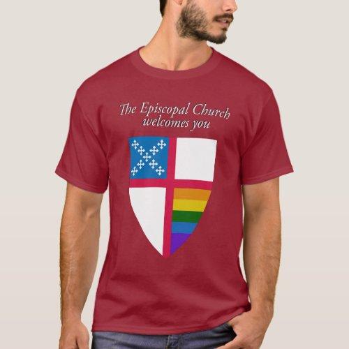 The Episcopal Church Welcomes You LGBTQ T_Shirt