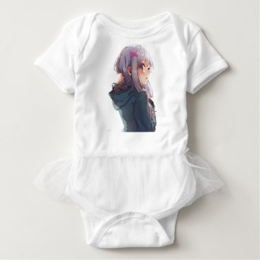 USA Themed The Epitome Of Cuteness Baby Bodysuit
