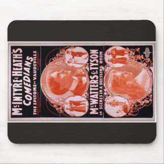 The Epitome of Vaudeville Mouse Pads