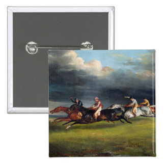 The Epsom Derby, 1821 Button