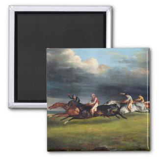 The Epsom Derby, 1821 Magnet