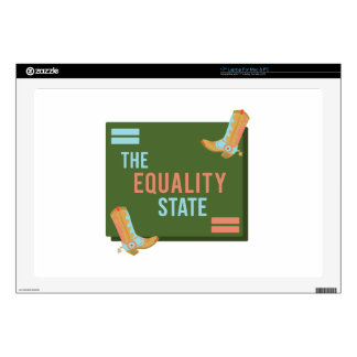 The Equality State Skin For Laptop