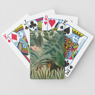The Equatorial Jungle, 1909 (oil on canvas) Bicycle Playing Cards