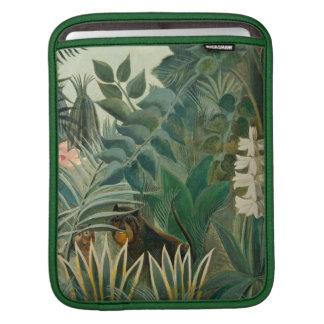 The Equatorial Jungle, 1909 (oil on canvas) iPad Sleeve