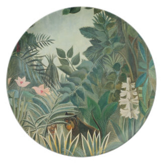 The Equatorial Jungle, 1909 (oil on canvas) Melamine Plate
