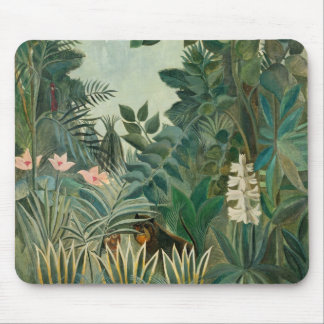 The Equatorial Jungle, 1909 (oil on canvas) Mouse Pad