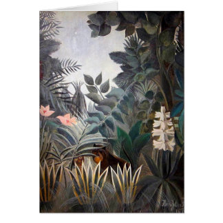 The Equatorial Jungle Stationery Note Card