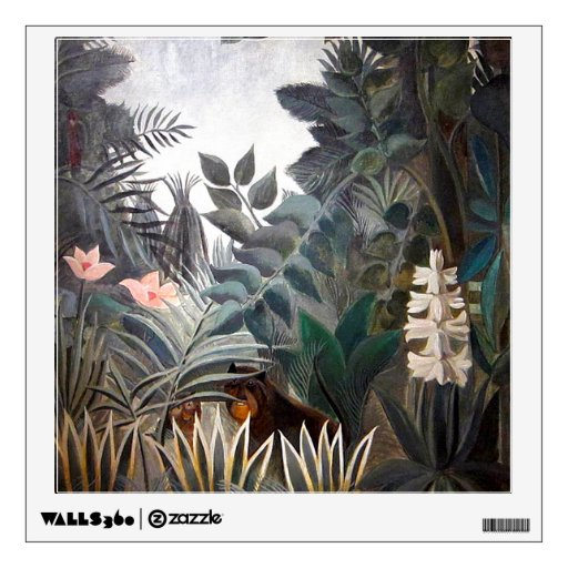 The Equatorial Jungle Wall Stickers