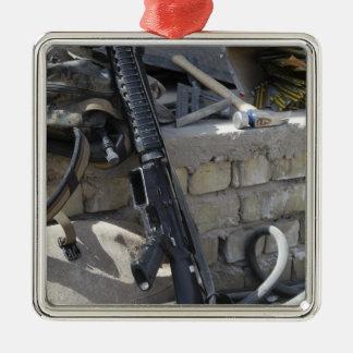 The equipment of a Marine Christmas Tree Ornament