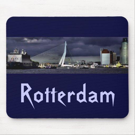 The Erasmus Bridge, Rotterdam Mousepad