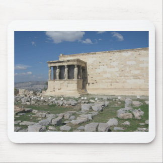 The Erecthion is part of ancient Greek Acropolis Mouse Pad