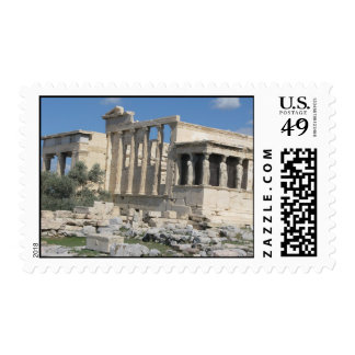The Erecthion - most sacred site in ancient Greece Postage Stamp