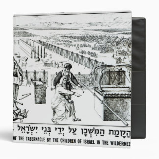 The Erection of the Tabernacle 3 Ring Binder