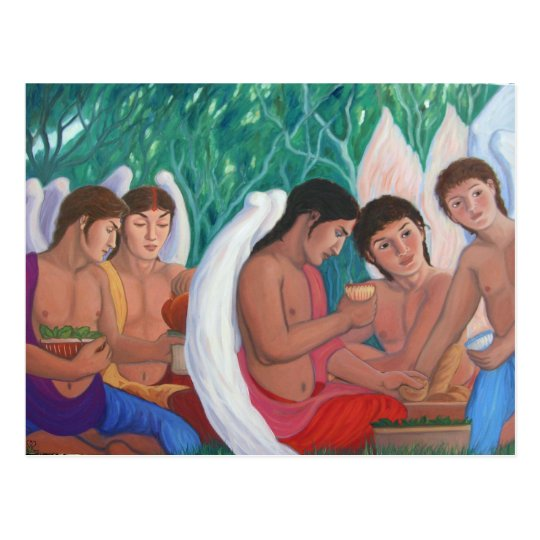 The Erotes - Family Picnic Postcard