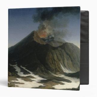 The Eruption of Etna 3 Ring Binder
