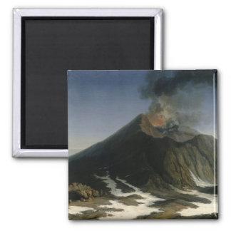 The Eruption of Etna Refrigerator Magnet
