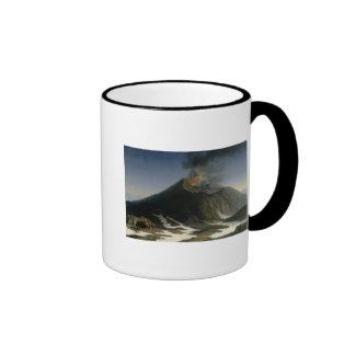 The Eruption of Etna Coffee Mugs
