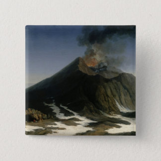 The Eruption of Etna Pinback Button