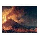 The Eruption of Mount Vesuvius in 1771 Postcard