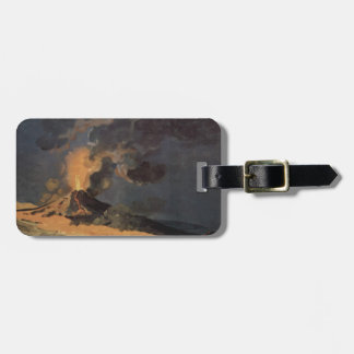 The Eruption of Vesuvius by Joseph Wright Bag Tags