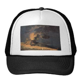 The Eruption of Vesuvius by Joseph Wright Trucker Hat