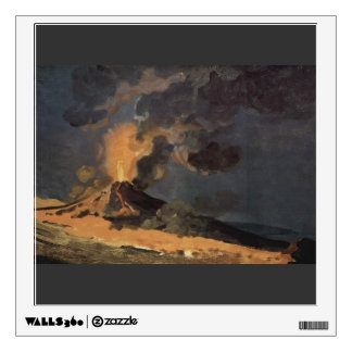 The Eruption of Vesuvius by Joseph Wright Wall Graphics