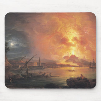 The Eruption of Vesuvius Mouse Pad