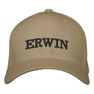 The Erwin Embroidered Embroidered Baseball Cap