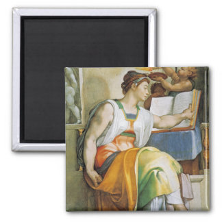 the Erythrean Sibyl 2 Inch Square Magnet