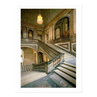 The Escalier de la Reine (Queen's Staircase) 1680 Postcard