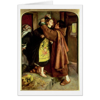 The Escape of a Heretic, 1559, 1857 (oil on canvas Card