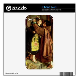 The Escape of a Heretic, 1559, 1857 (oil on canvas Skin For iPhone 4S