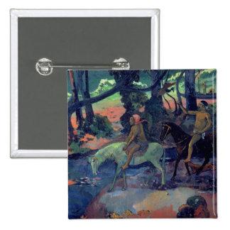 The Escape, The Ford, 1901 Pinback Button