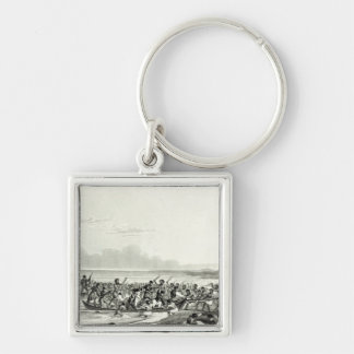 The Eskimoes Pillaging the Boats Keychain