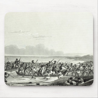 The Eskimoes Pillaging the Boats Mouse Pad