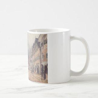 The Esplanade in Ischl by Rudolf von Alt Coffee Mug