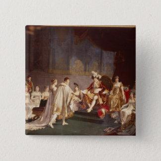 The espousal of Prince Jerome Bonaparte Pinback Button