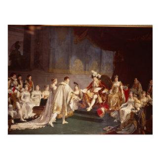 The espousal of Prince Jerome Bonaparte Postcard