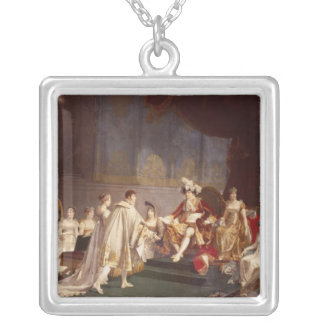 The espousal of Prince Jerome Bonaparte Silver Plated Necklace