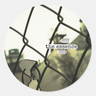 the essence classic round sticker