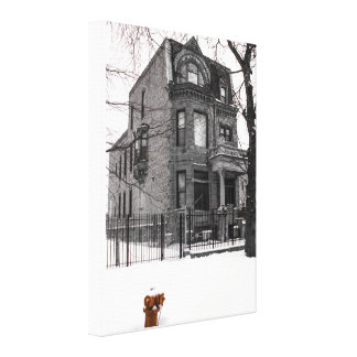 The Essence of Chicago Canvas Print