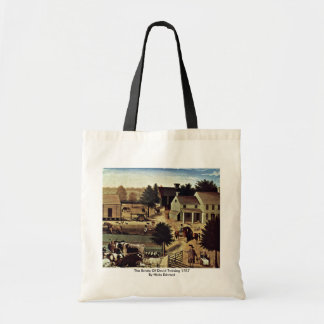 The Estate Of David Twining 1787 By Hicks Edward Tote Bag