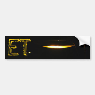 The ET Bumper Sticker