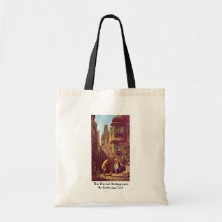 The Eternal Bridegroom By Spitzweg Carl Budget Tote Bag