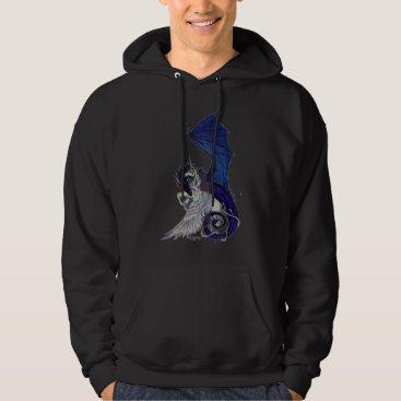 pegacorna The Eternal Embrace Unicorn and Dragon Hoodie